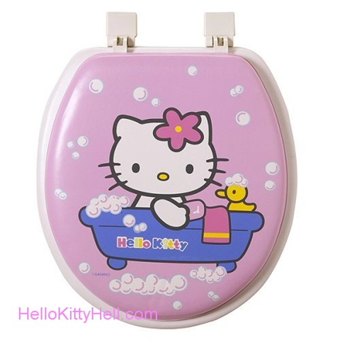 water hello kitty