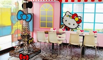 arredamento negozio hello kitty bagnetto hello kitty sala hello kitty ...