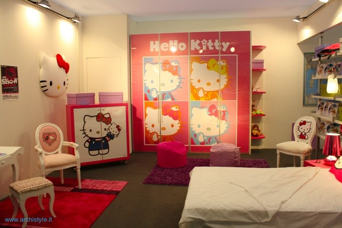 hello kitty cameretta helo kitty scrivania armadio negozio hello kitty ...