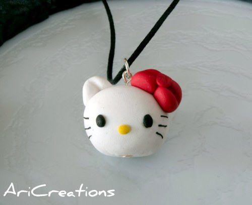 collana hello kitty fimo
