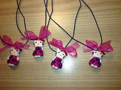 collanine bambina hello kitty fimo