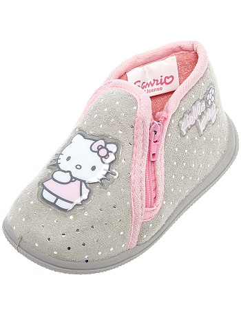 pantofole Hello Kitty a pois brillanti bimba