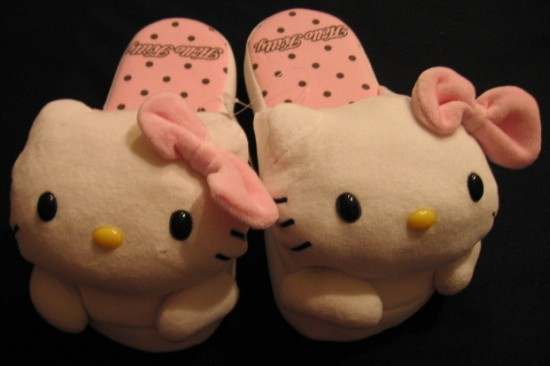 pantofole Hello Kitty peluche