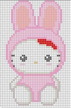 Hello Kitty A Punto Croce
