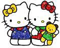 HELLO KITTY CON GEMELLINA MIMMY