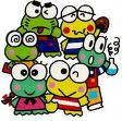 KEROPPI AND FRIENDS